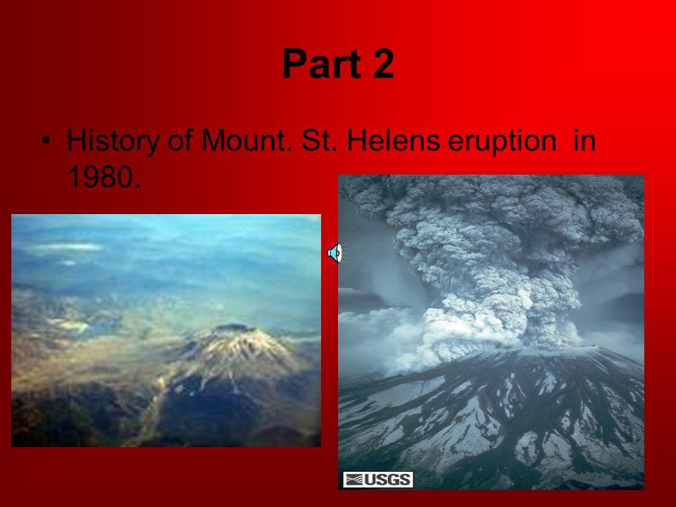 Vocabulary (cont.) Extinct- Dead volcano.