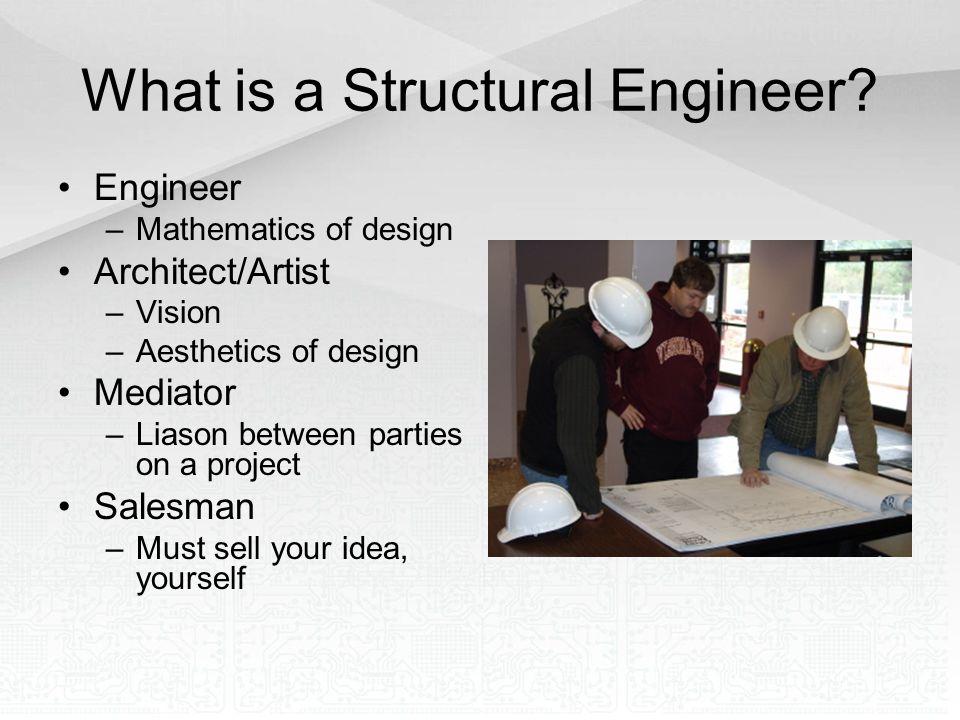 Structural Engineer –http://vaengineer.com/images/mr__snell_0462.jpghttp://vaengineer.com/images/mr__snell_0462.jpg Building –http://www.brasfieldgorrie.com/_images/portfolio/84/2.jpghttp://www.brasfieldgorrie.com/_images/portfolio/84/2.jpg Girder –http://www.popartuk.com/g/l/lgfp0432+men-on-a-girder-having-lunch- new-york-city-collection-poster.jpghttp://www.popartuk.com/g/l/lgfp0432+men-on-a-girder-having-lunch- new-york-city-collection-poster.jpg –http://oldcooperriverbridge.org/small/oct_31_1927_pearman_resting_gir der.jpg Beam –http://www.cedar-log-homes.com/log-homes-images2/beams-glulam- 6.gif Flooring –http://www.domoteck.org/domoteck_com_images/floor_cross_section.jp g