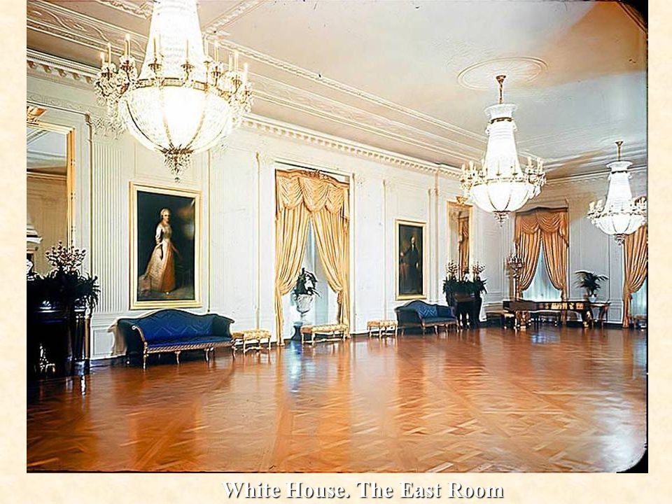White House. The East Room