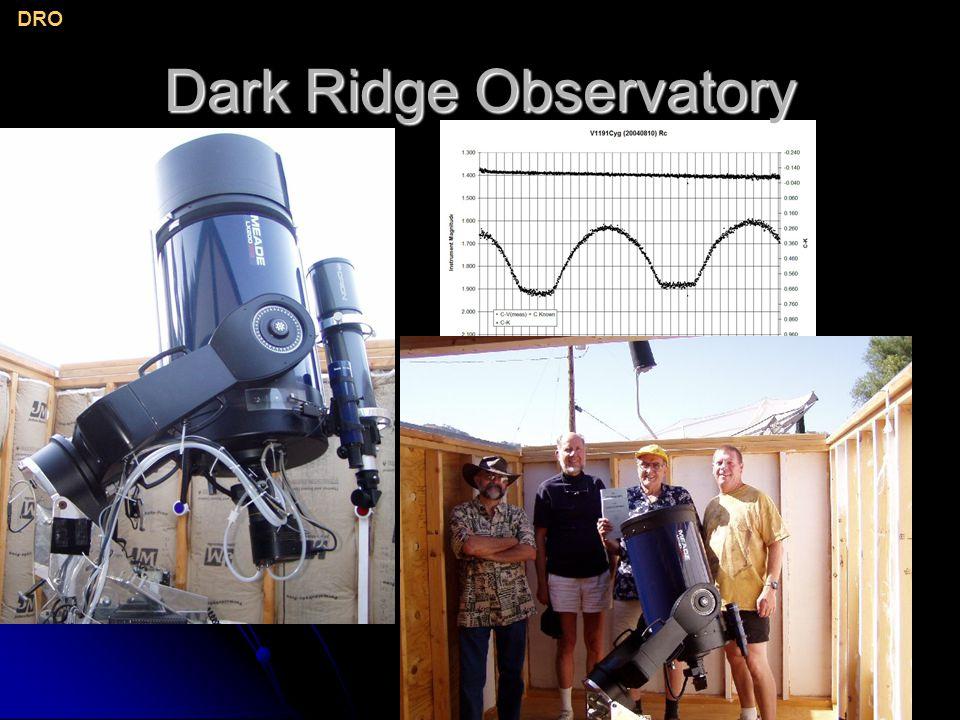 Dark Ridge Observatory DRO