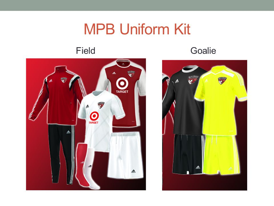 MPB Uniform Kit Goalie Field