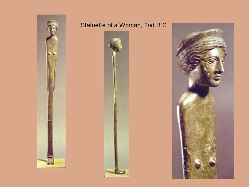 Statuette of a Woman, 2nd B.C.