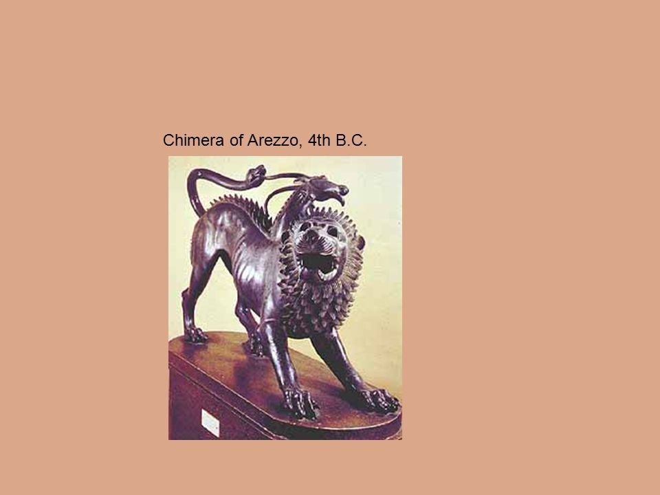 Chimera of Arezzo, 4th B.C.