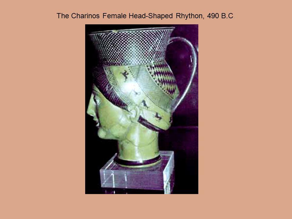 The Charinos Female Head-Shaped Rhython, 490 B.C.