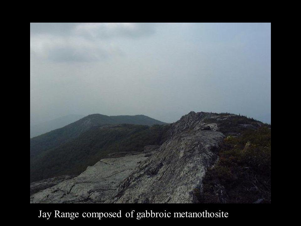 Jay Range composed of gabbroic metanothosite