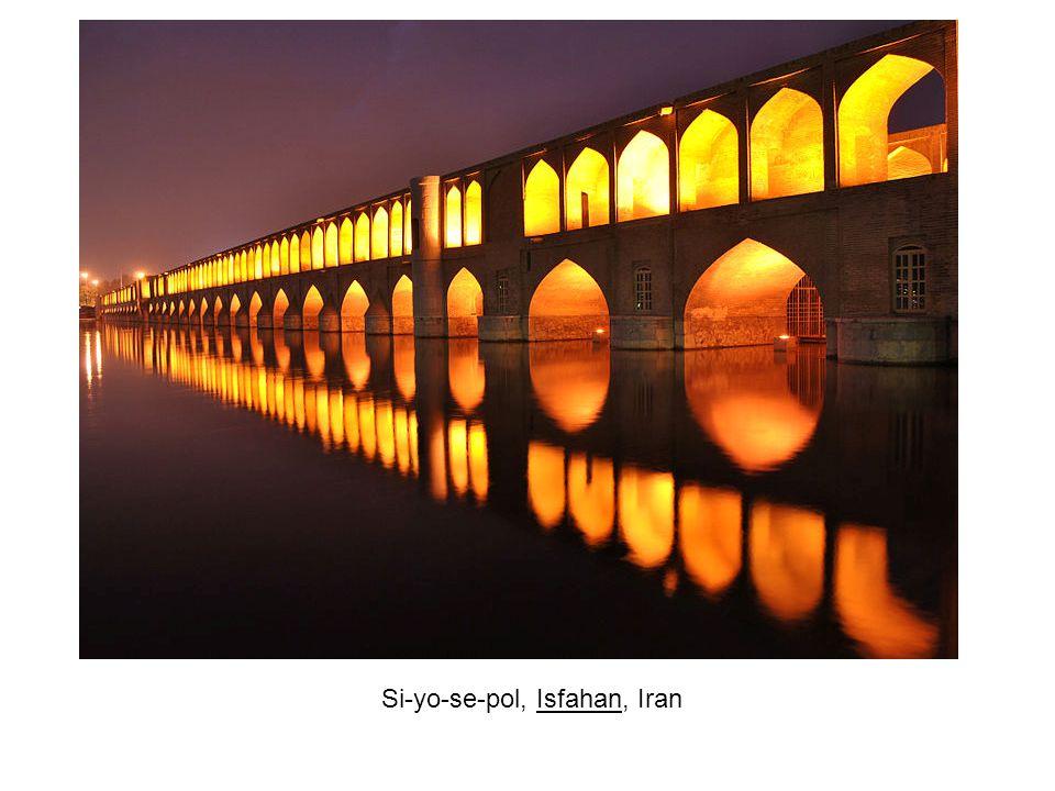 Si-yo-se-pol, Isfahan, Iran