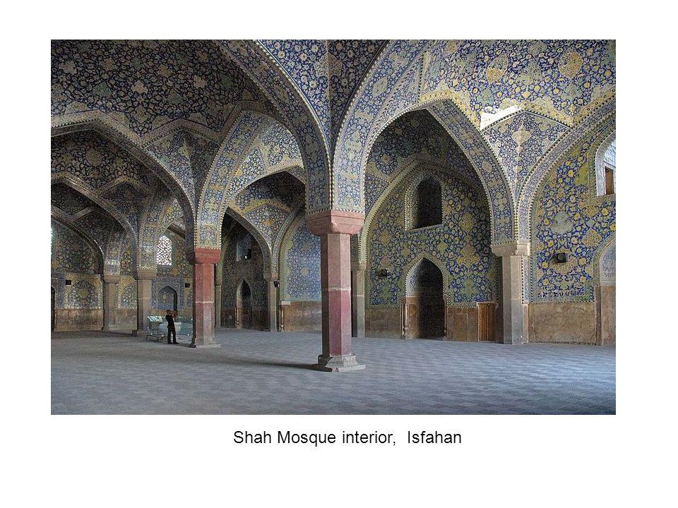 Shah Mosque interior, Isfahan