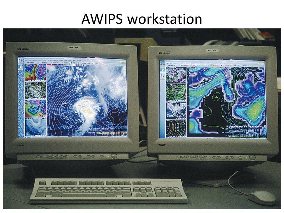AWIPS workstation