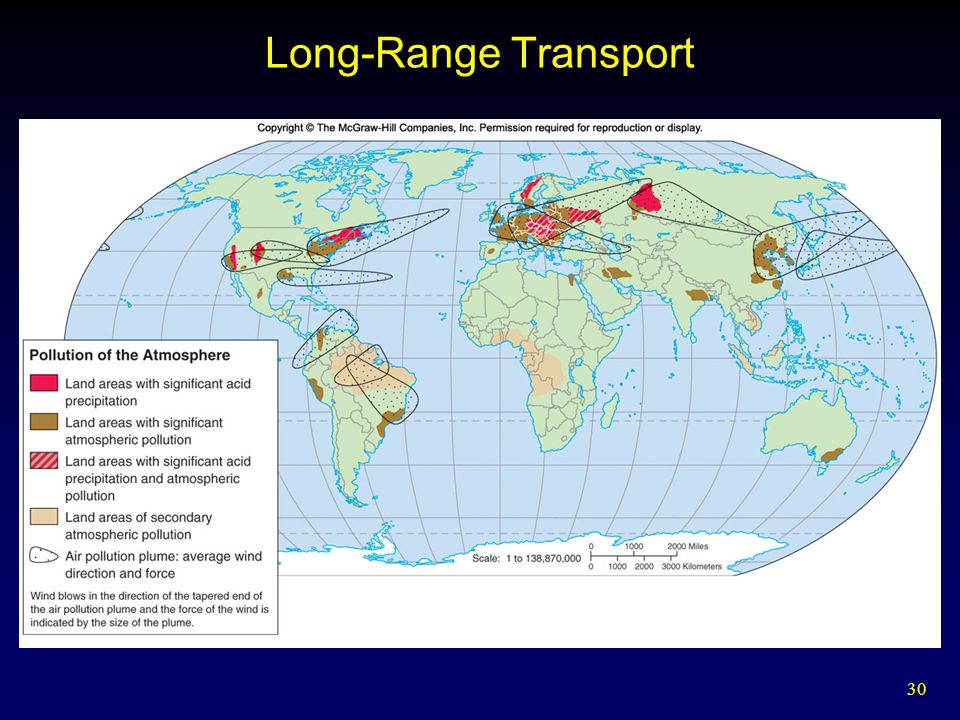 30 Long-Range Transport