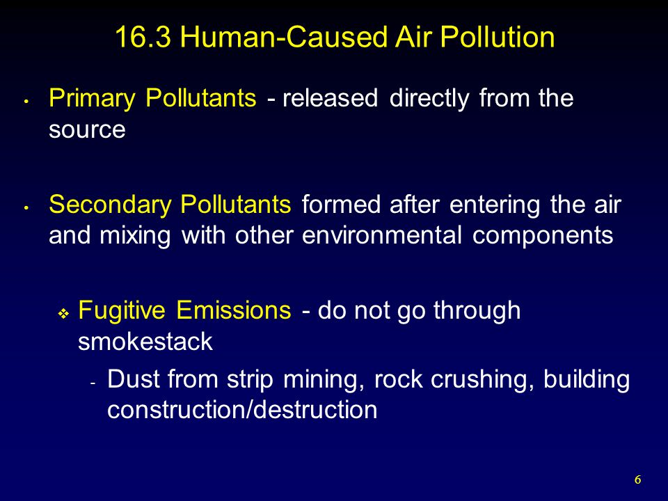 17 Conventional Pollutants-Metals  Mercury - Dangerous neurotoxin - Minamata, Japan disaster (E.C.) - In 2007, all sampled rivers in 12 western states were contaminated - 45 states have warnings about local fish and pregnant women and children should limit consumption of tuna, swordfish, marlin, lobster - 300,000 to 600,000 children in U.S.