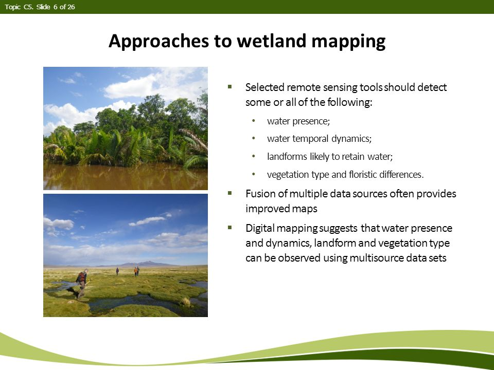 Topic C5. Slide 7of 26 Overall schematic of map development