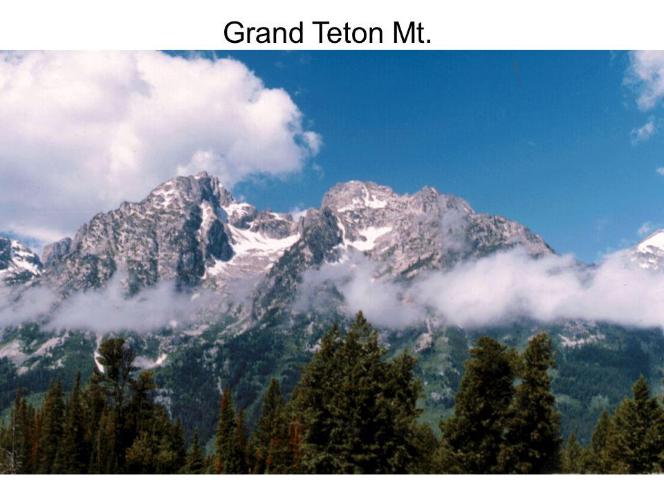 Grand Teton Mt.