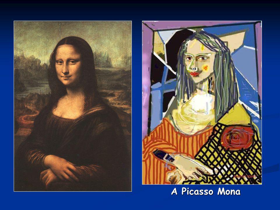 A Picasso Mona