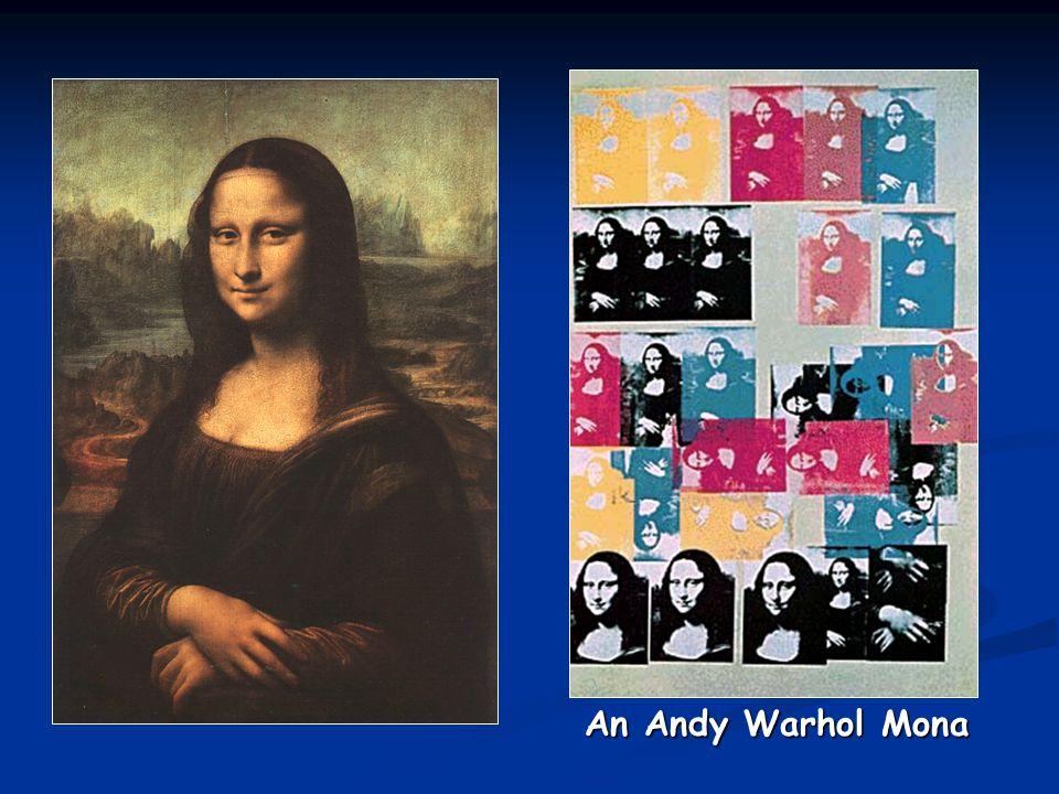 An Andy Warhol Mona