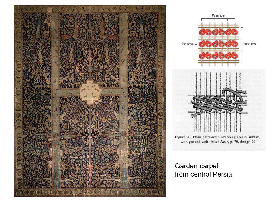 Garden carpet from central Persia