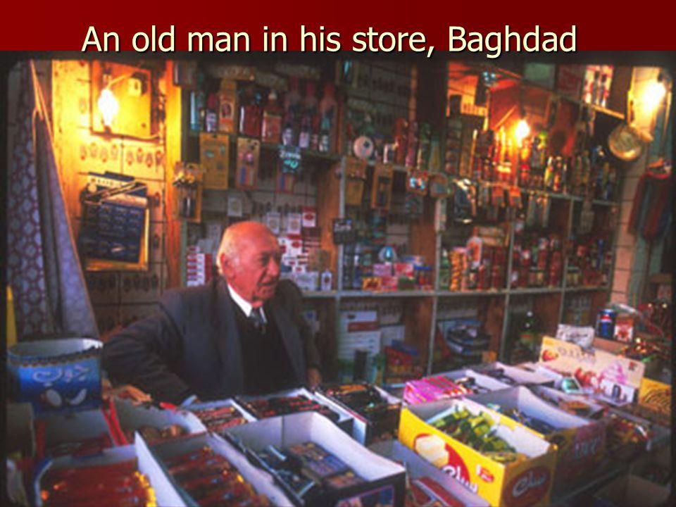 Downtown market, Baghdad