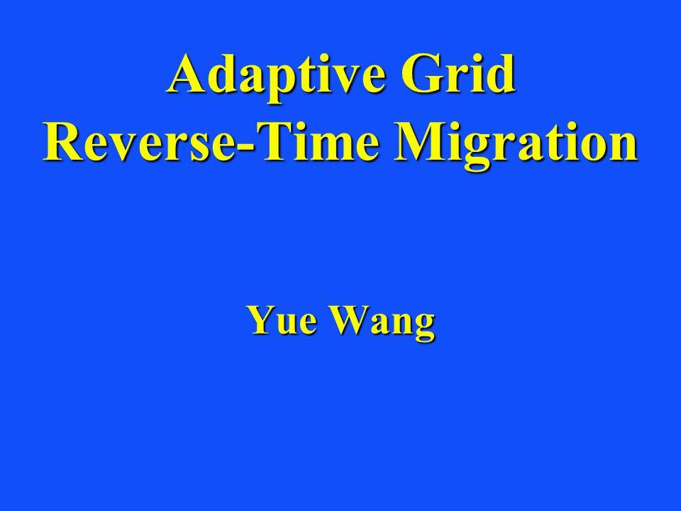 Variable Grid Size Fine grid (dx dz) Coarse grid (3dx 3dz) z