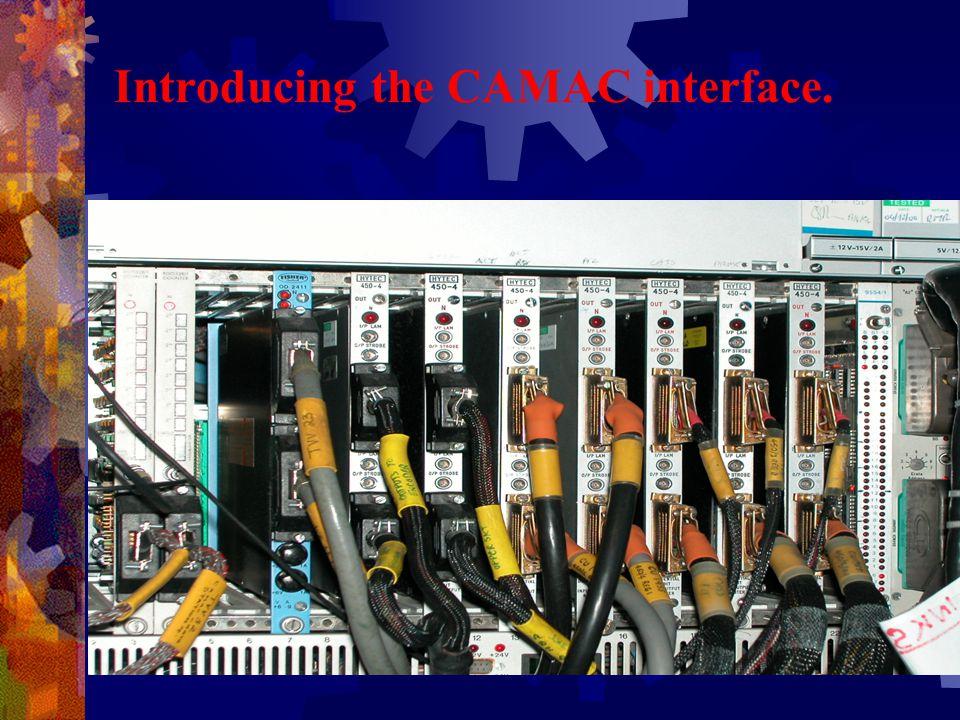 Introducing the CAMAC interface.