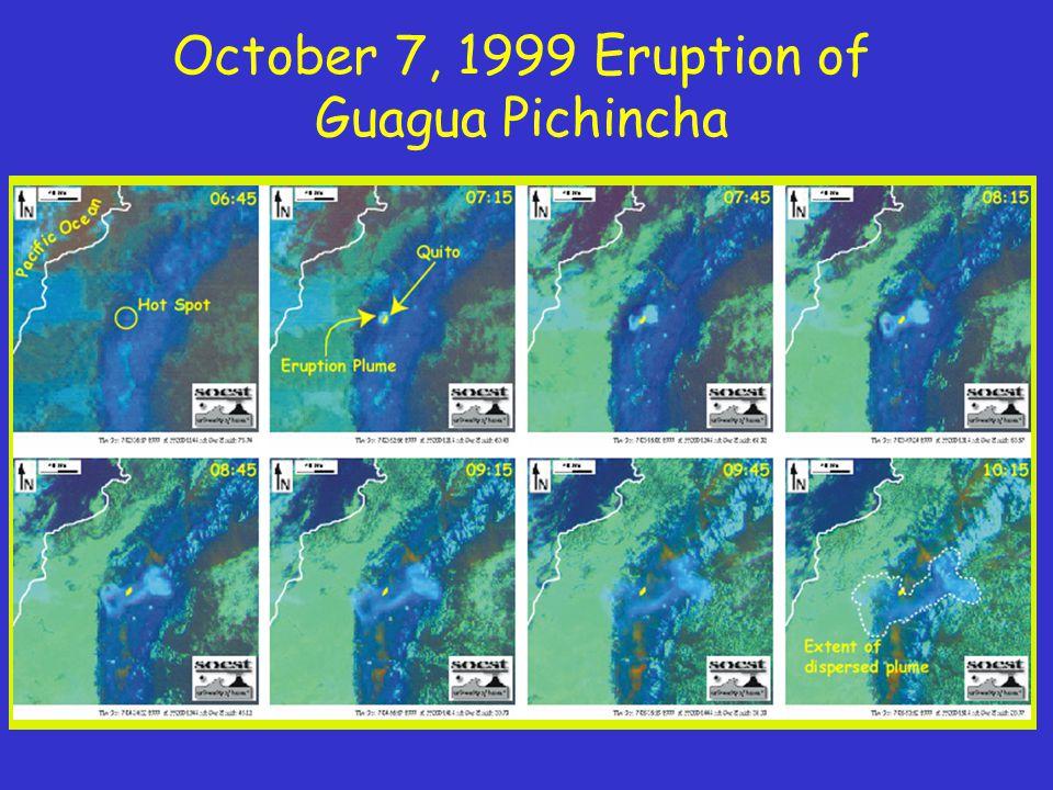 October 7, 1999 Eruption of Guagua Pichincha
