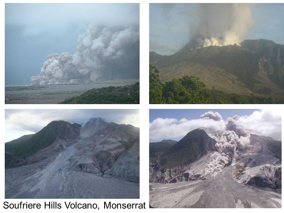 Soufriere Hills Volcano, Monserrat
