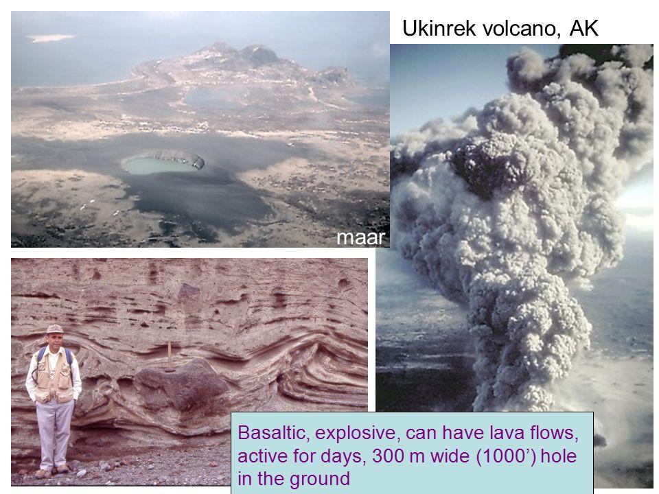 Andesitic/dacitic volcanoes Mt Jefferson, OR stratovolcano Fuji-san, Japan