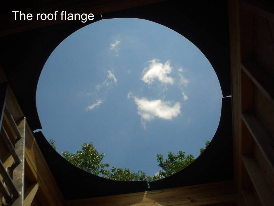 The roof flange