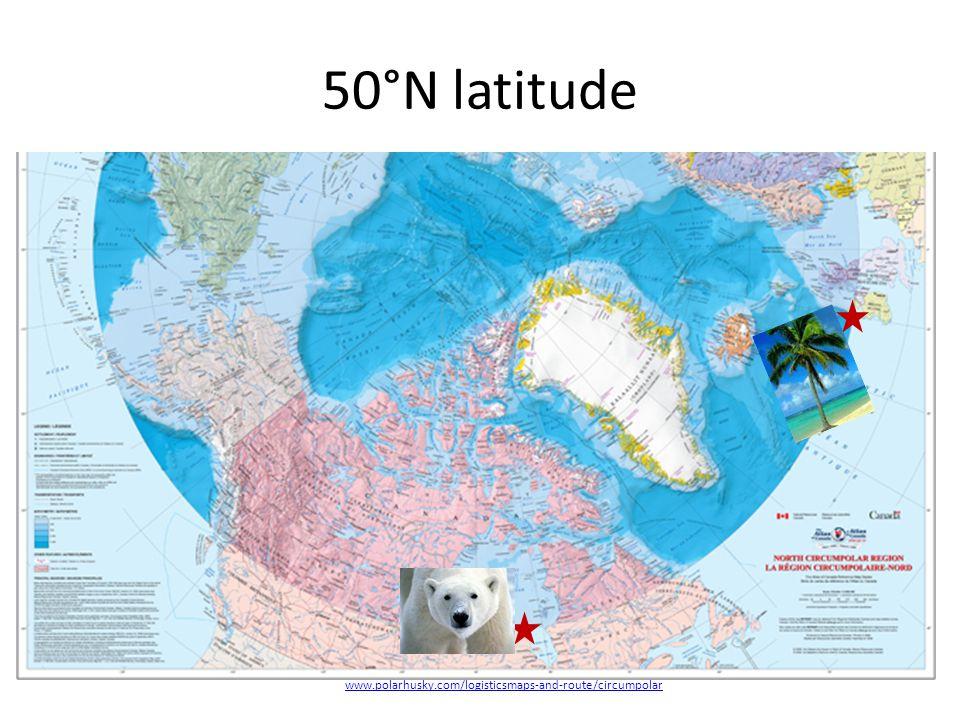 50°N latitude www.polarhusky.com/logisticsmaps-and-route/circumpolar