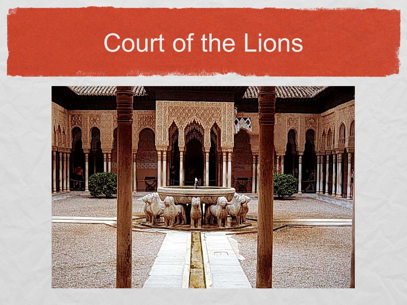 Court of the Lions