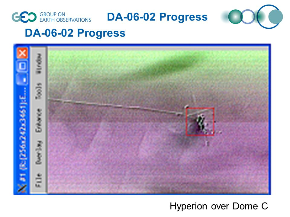 Hyperion over Dome C DA-06-02 Progress