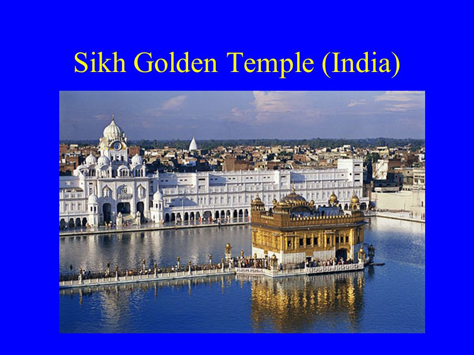 Sikh Golden Temple (India)
