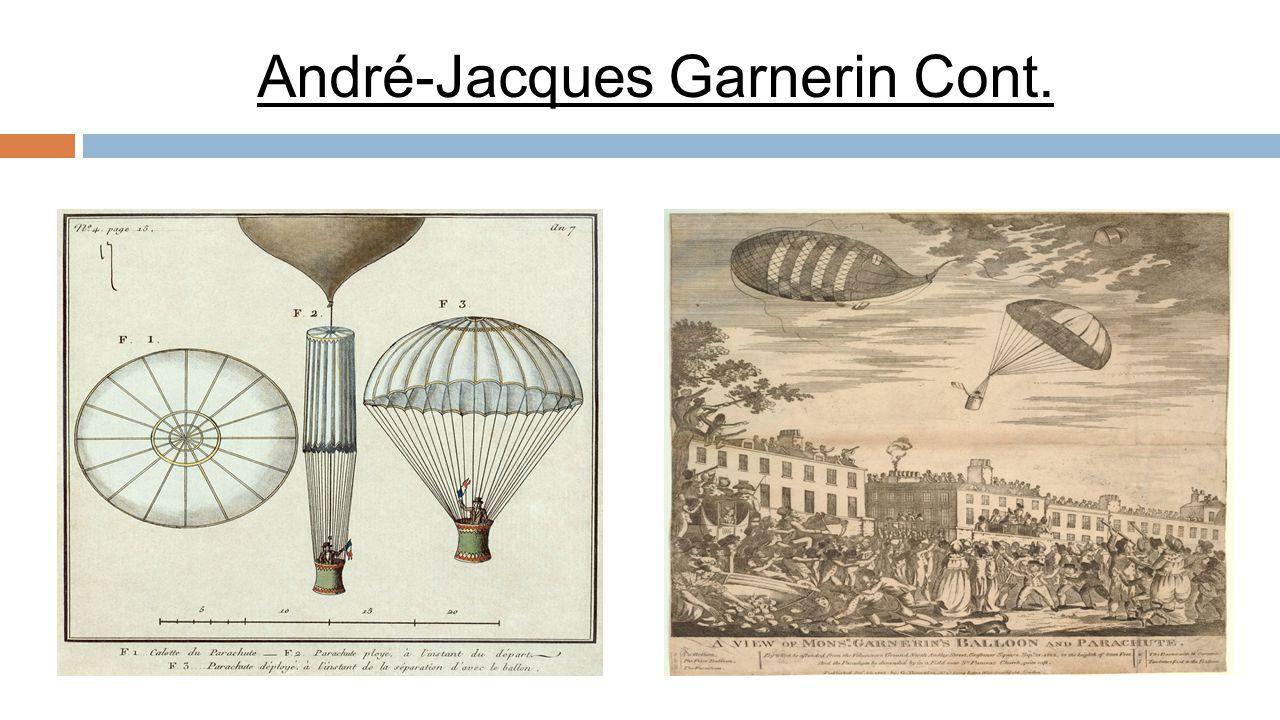 André-Jacques Garnerin Cont.