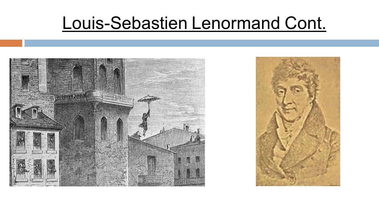 Louis-Sebastien Lenormand Cont.
