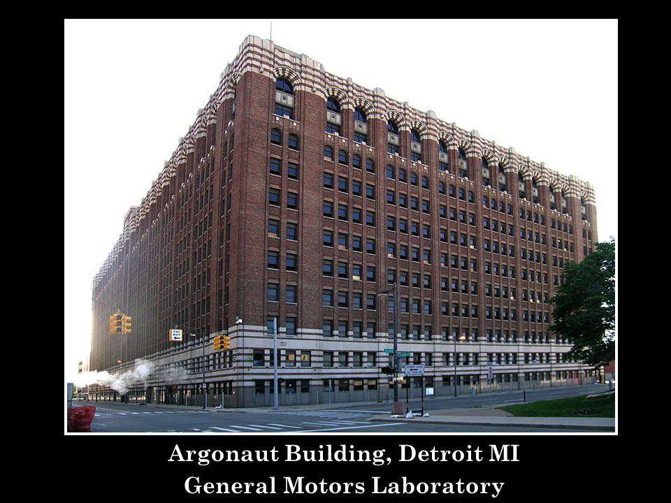 Argonaut Building, Detroit MI General Motors Laboratory