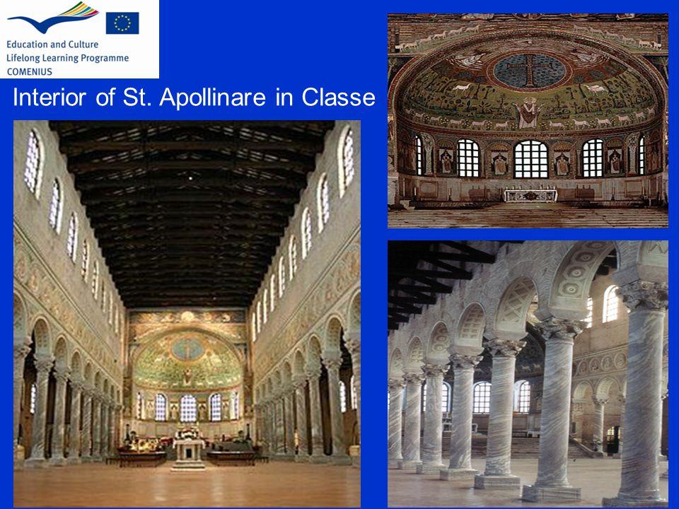 Interior of St. Apollinare in Classe
