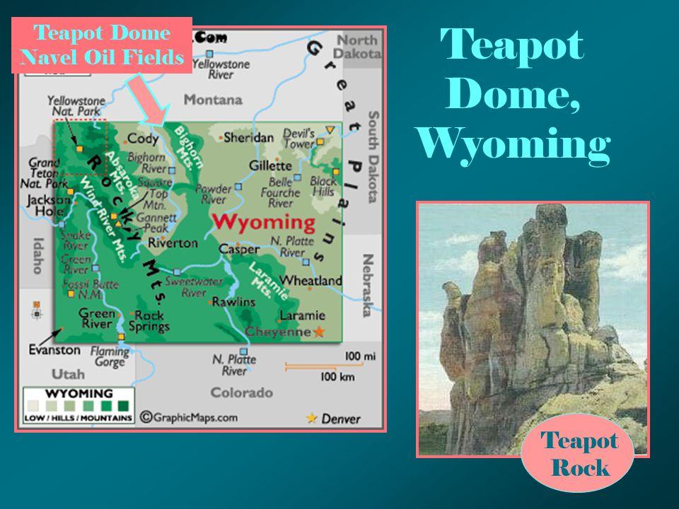 Teapot Dome, Wyoming Teapot Rock Teapot Dome Navel Oil Fields