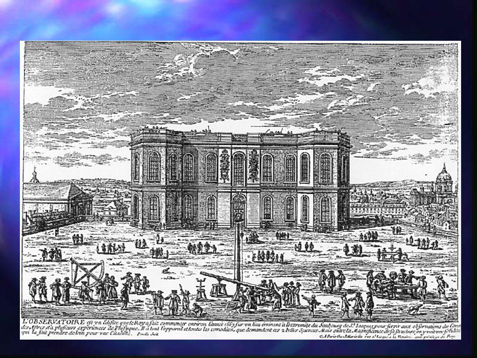 Paris Observatory n n Louis XIV funds `l Observatoire Royal' n n Architect: Claude Perrault (ded.