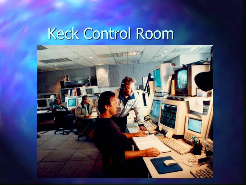 Keck Control Room
