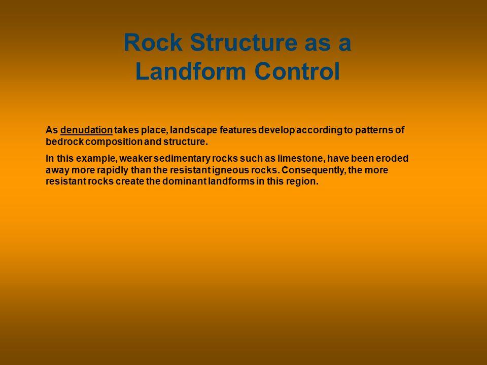 Rock Structure as a Landform Control Sandstone Butte, Sedona, Arizona