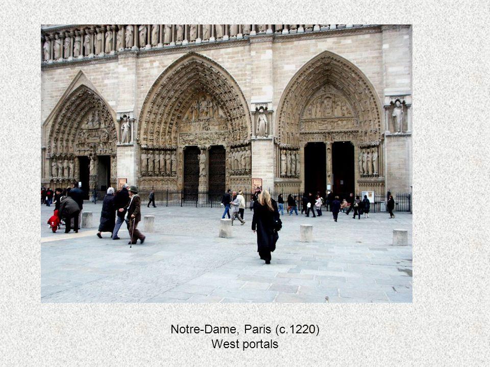 Notre-Dame, Paris (c.1220) West portals