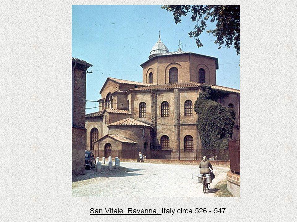 San Vitale Ravenna, Italy circa 526 - 547