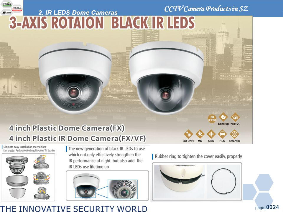 page_ 0024 2. IR LEDS Dome Cameras CCTV Camera Products in SZ