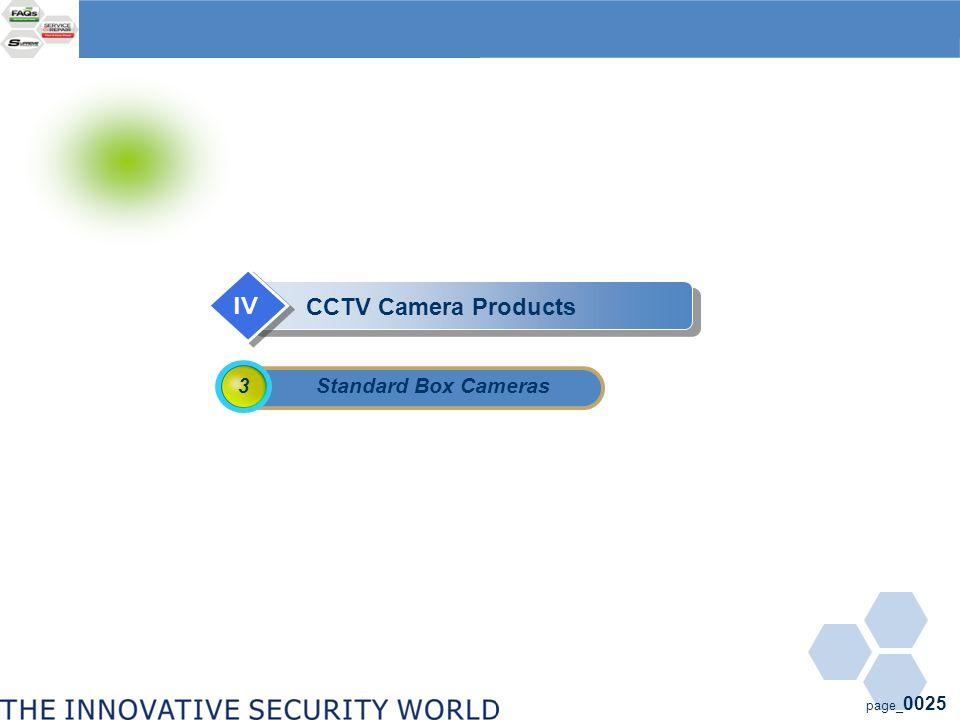 page_ 0025 Standard Box Cameras 3 CCTV Camera Products IV