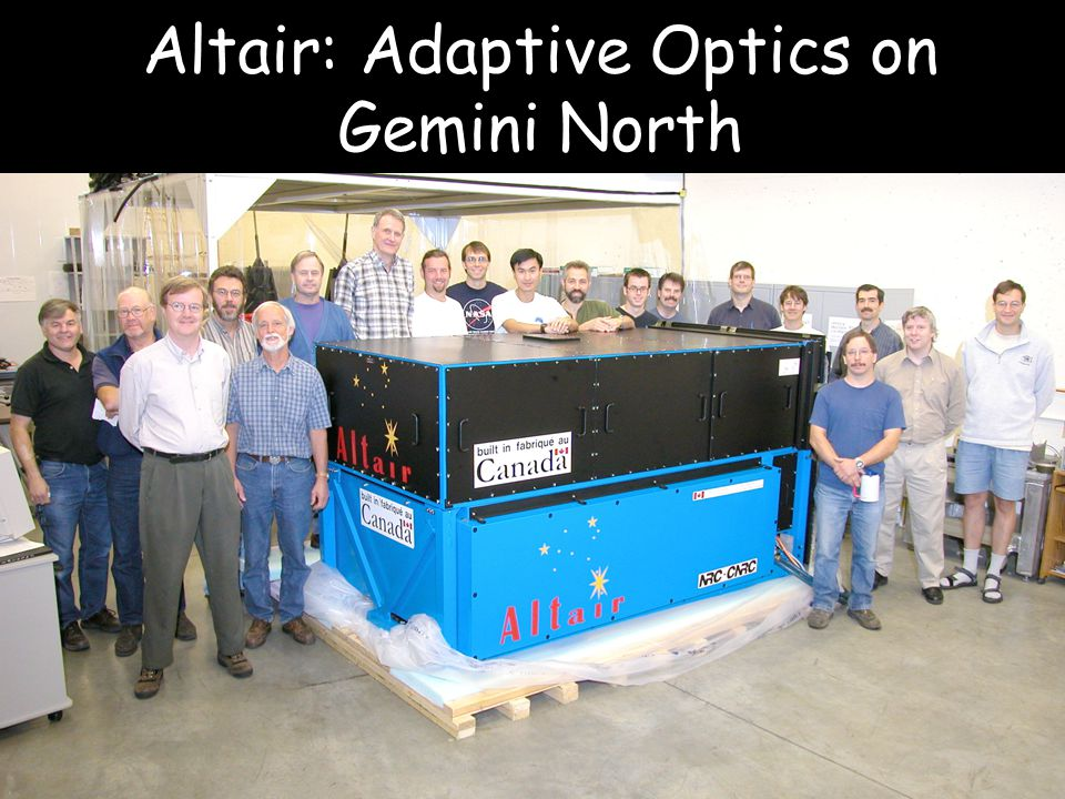 Altair: Adaptive Optics on Gemini North