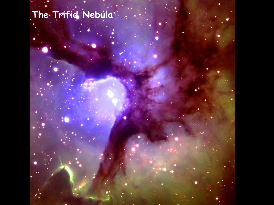 Trifid nebula The Trifid Nebula