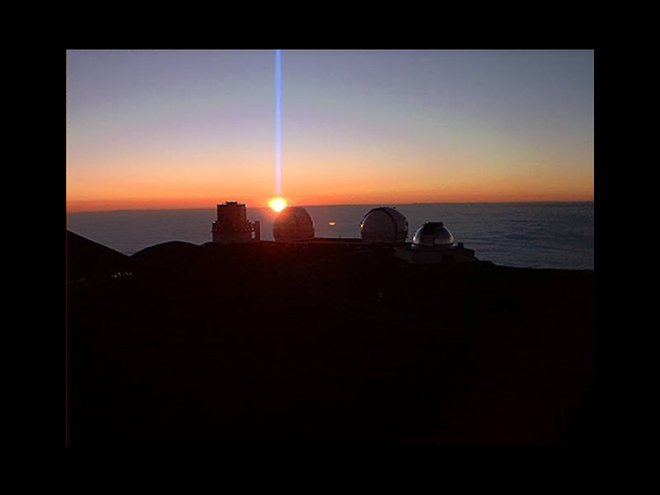 Sunset from Mauna Kea
