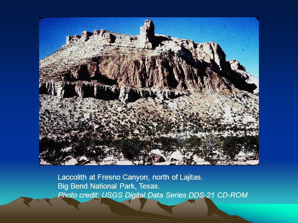 Laccolith at Fresno Canyon, north of Lajitas. Big Bend National Park, Texas.