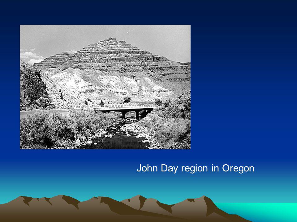 John Day region in Oregon