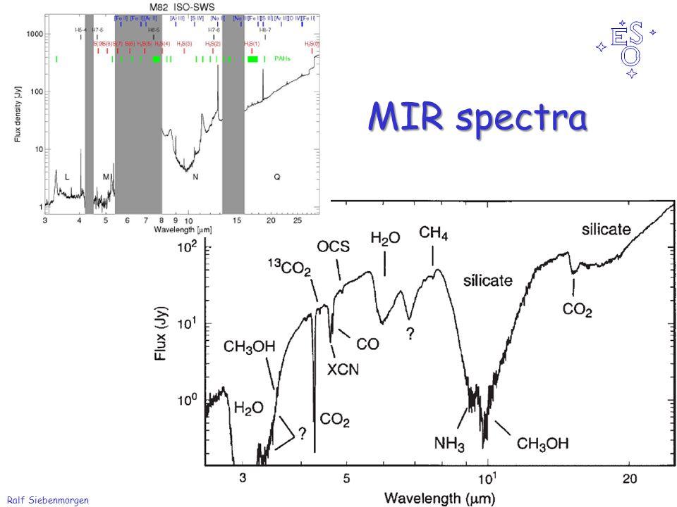 Ralf Siebenmorgen IR instrument from Antarctica MIR spectra