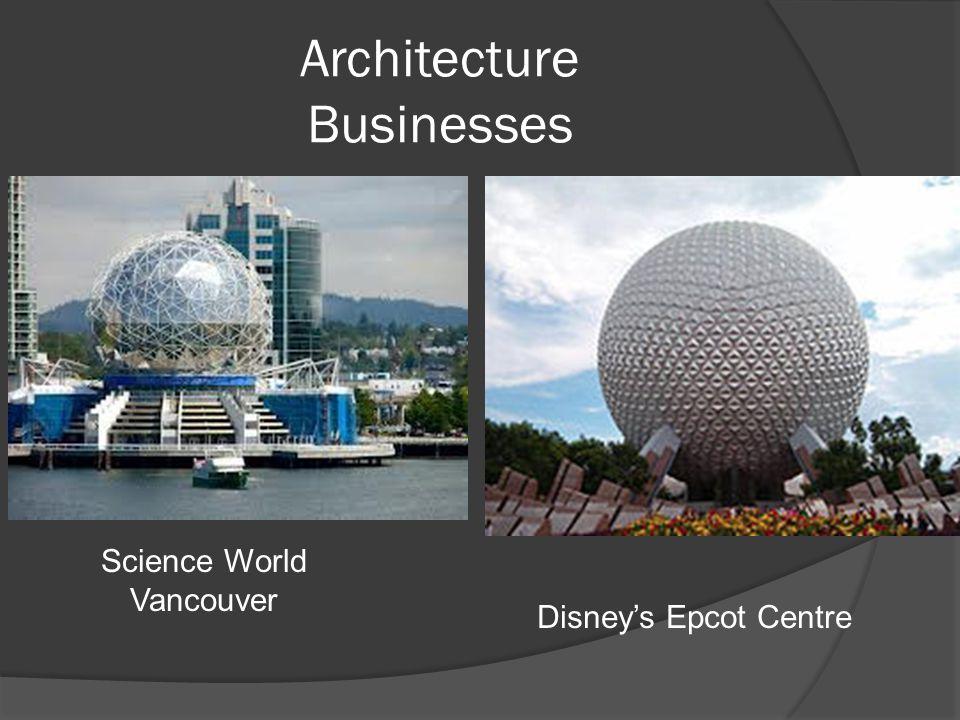 Architecture Businesses Science World Vancouver Disney's Epcot Centre