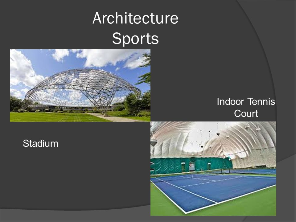 Architecture Sports Stadium Indoor Tennis Court